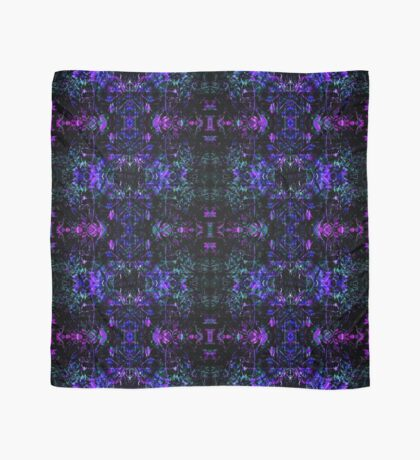 Organic Symmetry: Cool Berry Fractals Scarf