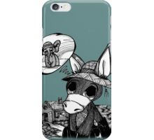 Donkey/elephant iPhone Case/Skin
