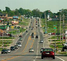 Streets of Cape Girardeau by Daniel Owens
