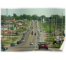 Streets of Cape Girardeau Poster