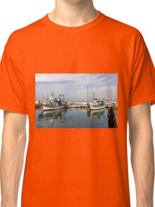 Israel, Jaffa, Fishing boats in the ancient port Classic T-Shirt