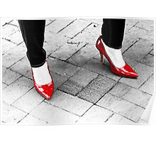 Two Red Shoes Poster