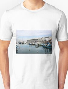 Israel, Jaffa, Fishing boats in the ancient port Unisex T-Shirt