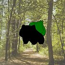 Bulbasaur in the Woods by WithABlackTail