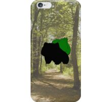 Bulbasaur in the Woods iPhone Case/Skin