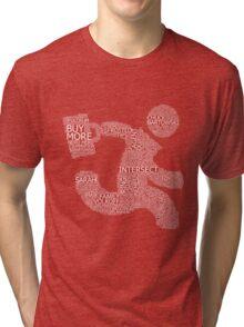 Versus (Red) Tri-blend T-Shirt