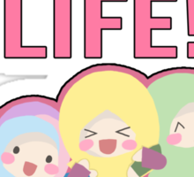 Sisters for Life Insya-Allah Sticker