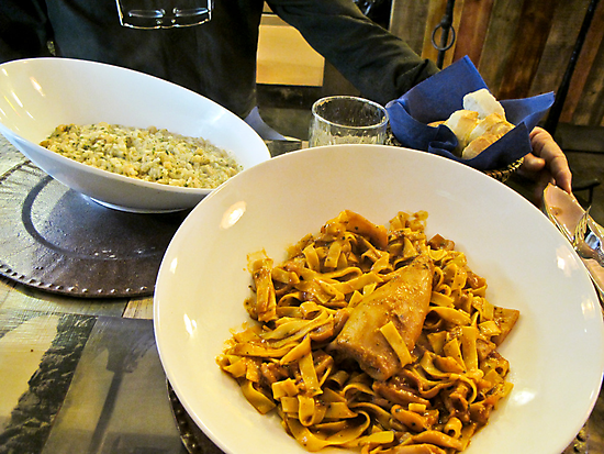 pasta in a bowl by Anne Scantlebury