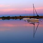 Sunset. Yachts at Aurora Reservoir. Denver. Colorado. USA. Photo 3 by Anatoly Lerner