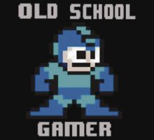 Old School Gamer by mikeAguy1