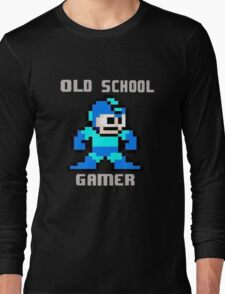 Old School Gamer Long Sleeve T-Shirt
