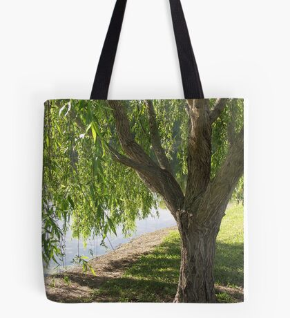 Willow at the Edge Tote Bag