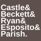 Castle & Beckett & Ryan & Esposito & Parish by fandomfashions