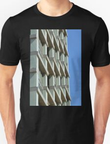 Abstract architecture with blue sky background. T-Shirt