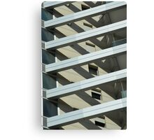 Abstract architecture. Photographed in tel Aviv, Israel  Canvas Print
