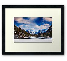 Rocky Mountains 1 Framed Print