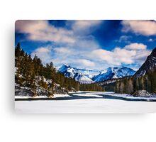 Rocky Mountains 1 Canvas Print