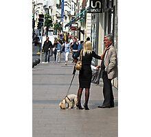 street scene in Cannes Photographic Print