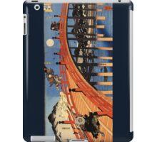 Japanese Print:  Warriors on a Bridge iPad Case/Skin