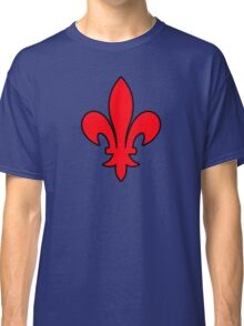 lys  france roi royale Classic T-Shirt