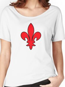 lys  france roi royale Women's Relaxed Fit T-Shirt