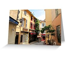 Cannes street Greeting Card