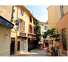 Cannes street Photographic Print