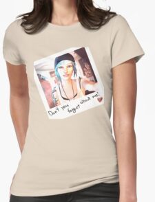 Forget Womens Fitted T-Shirt