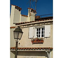house in Antibes Photographic Print