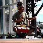 busker. hobart, tasmania by tim buckley | bodhiimages