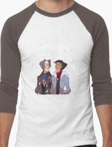 snow dads Men's Baseball ¾ T-Shirt
