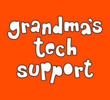 Grandma's tech support by Anny Arden