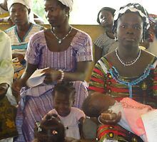 Well baby day at Saboba Medical Centre by Baba John Goodwin