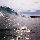Wave at North North Cottesloe by robertemerald