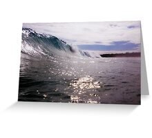 Wave at North North Cottesloe Greeting Card