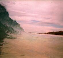 Fun With Photoshop: Close Up Of A Perth Wave by robertemerald