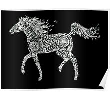 Doodle horse Poster