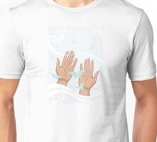 beautiful female hands Unisex T-Shirt