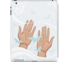 beautiful female hands iPad Case/Skin