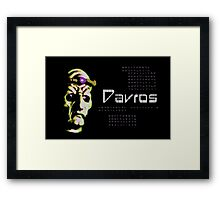 Doctor Who - Davros Framed Print