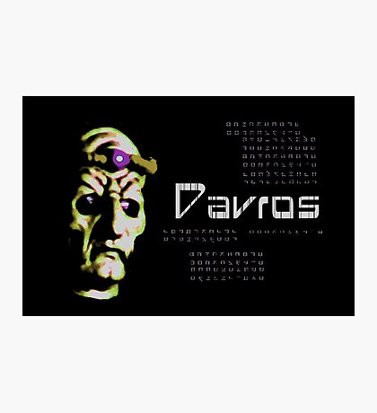 Doctor Who - Davros Photographic Print