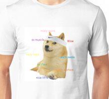 Gym Doge Unisex T-Shirt