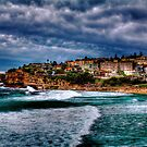 Bronte Beach HDR by Andrew  MCKENZIE