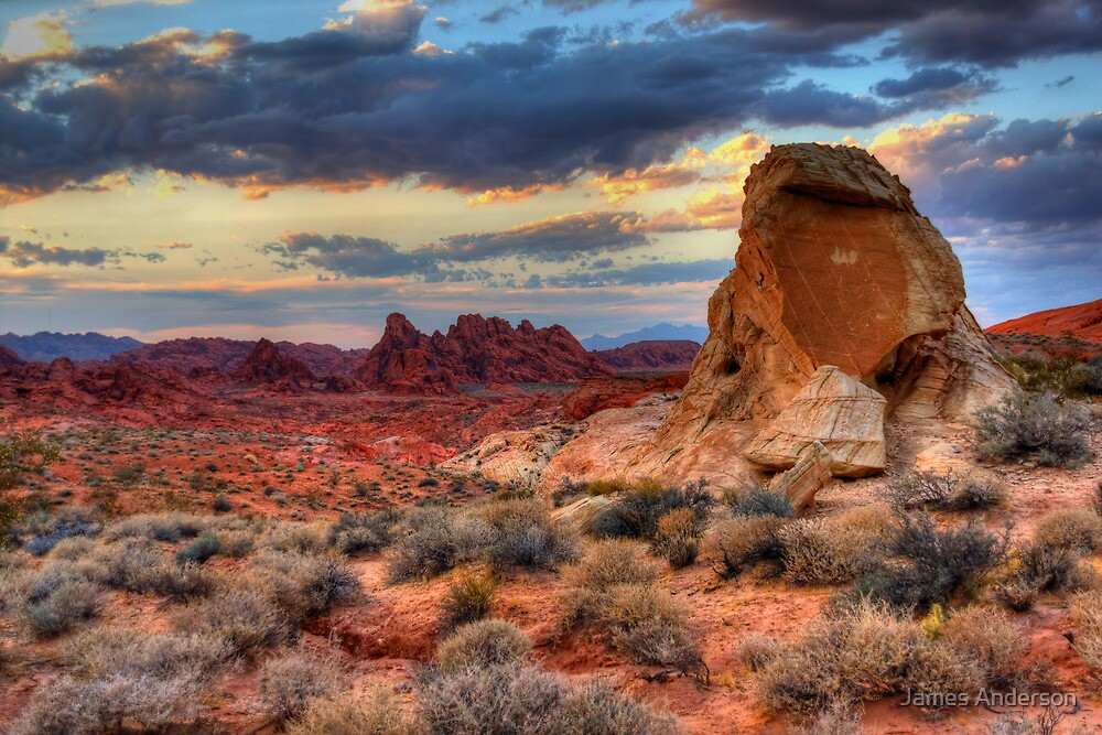 White Domes Canyon - Valley of Fire by JamesA1
