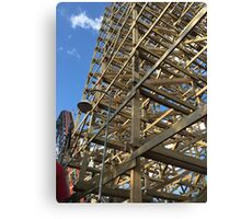 Wooden Coaster - Goliath Canvas Print