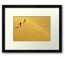 Dune Time Framed Print
