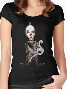 Punk Women's Fitted Scoop T-Shirt