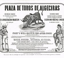 Poorly translated Bull fight Bill 1873 by artfromthepast
