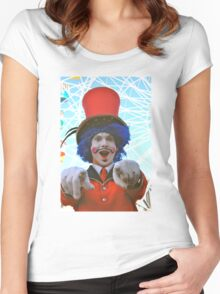 make sure you have fun!  luna park, sydney, australia Women's Fitted Scoop T-Shirt