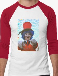 make sure you have fun!  luna park, sydney, australia Men's Baseball ¾ T-Shirt